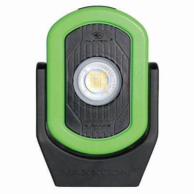 WorkStar Cyclops Rechargeable Work Light in HiViz Green