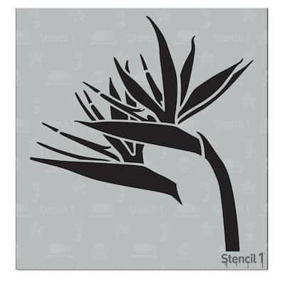 Bird of Paradise Small Stencil