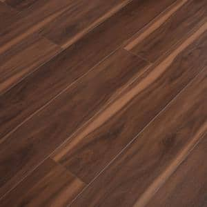 Vinyl Pro With Mute Step Deep Sea Eucalyptus 7.25 in. W x 48 in. L Waterproof Luxury Vinyl Plank Flooring (24.03 sq. ft)