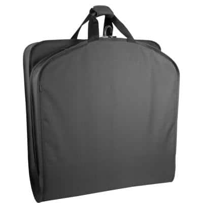 40-in. Black Garment Bag with Handles