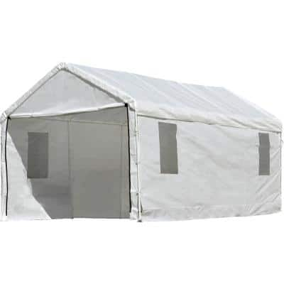 10 ft. W x 20 ft. D Max AP Enclosure Kit with Windows for Canopy ClearView Frame (Canopy and Frame Not Included)