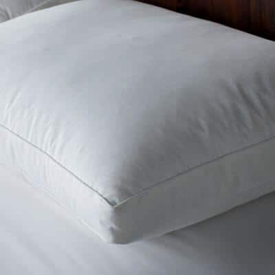Gusseted RDS Certified Down and Feather Side Sleeper Pillow