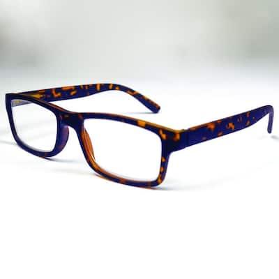 Reading Glasses Retro Tortoise 2.5 Magnification