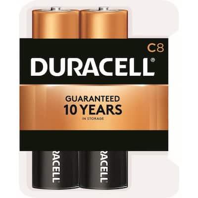 Coppertop Alkaline C Battery (8-Pack)