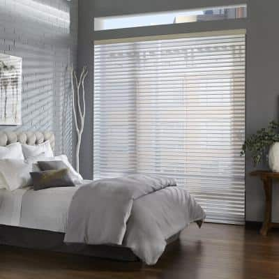2 1/2 in. Premium Faux Wood Blinds