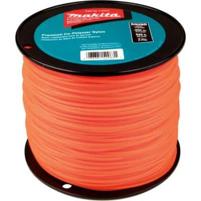 840 ft. 3 lbs. 0.095 in. Round Trimmer Line in Orange