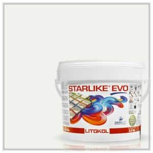 Starlike EVO Epoxy Grout 100 Bianco Assoluto Classic Collection 2.5 kg - 5.5 lbs.