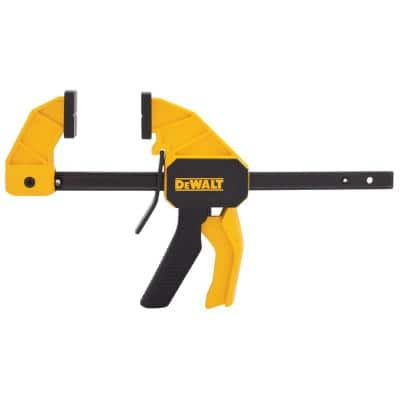 12 in. 100 lbs. Trigger Clamp with 2.43 in. Throat Depth