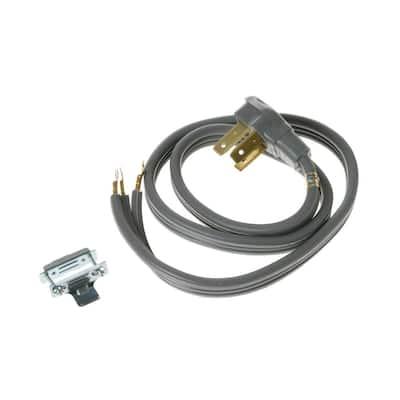 4 ft. Range Cord, 50 Amp, 3-Wire