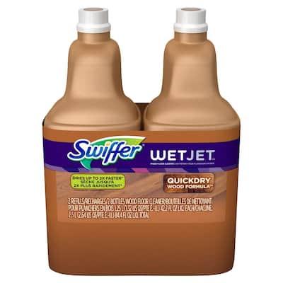WetJet 42.2 oz. Multi-Purpose Hardwood Floor Cleaner Solution Refill (2-Pack)