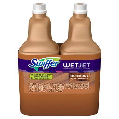 WetJet 42.2 oz. Multi-Purpose Hardwood Floor Cleaner Solution Refill (2-Count, 2-Pack)