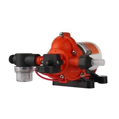 12-Volt 3.0 GPM 0.064 HP Water Pressure Pump