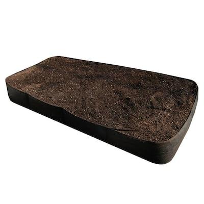 4 ft. x 8 ft. Black Instant Raised Garden Bed