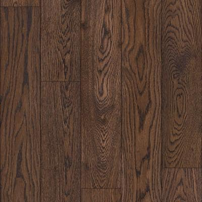 Oak Cameron 1/4 in. T x 5 in. W x Varying Length Waterproof Engineered Hardwood Flooring (16.68 sq.ft)