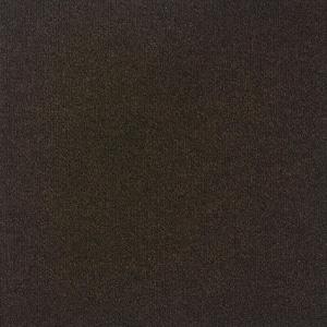 Contender Single Rib Mocha 24 in. x 24 in. Commercial Peel and Stick Carpet Tiles (15 Tiles/Case)