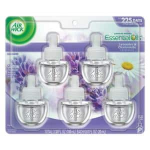 0.67 oz. Lavender Scented Oil Refill (Pack of 5)