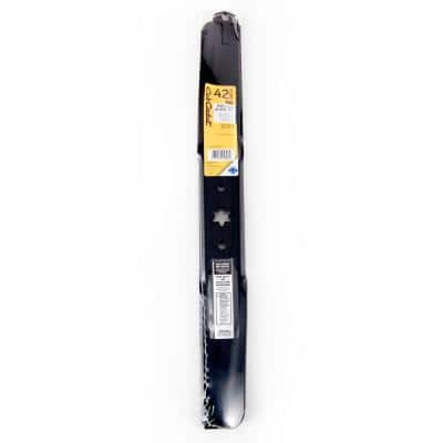 Original Equipment High Lift Blade Set for Select 42 in. Riding Lawn Mowers with 6-Point Star OE# 942-04308, 742-04308