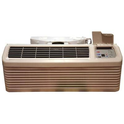 9,000 BTU R-410A Packaged Terminal Air Conditioning Plus 3.5 kW Electric Heat 230-Volt Seacoast Corrosion Protection