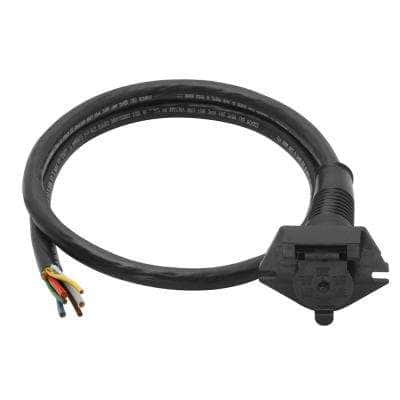 6-Way Super Sealed Car End with 7 ft. Cable