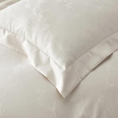 Legends Luxury™ Jacquard Floral Supima Wrinkle-Free Cotton Duvet Cover