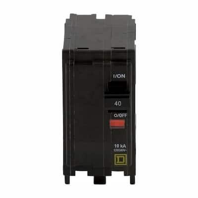 QO 40 Amp 2-Pole Circuit Breaker (3-Pack)