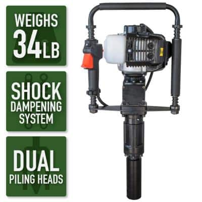 Earth Series 32.7cc Gas Powered T-Post Driver
