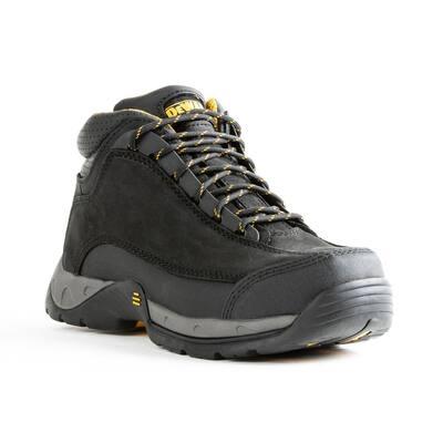 Men's Baltimore 6 in. Work Boots - Steel Toe - Black (7.5)M