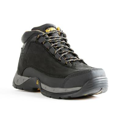 Men's Baltimore 6 in. Work Boots - Steel Toe - Black (10)M