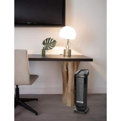 Tower 22 in. Electric Ceramic Oscillating Space Heater with Digital Display and Remote Control