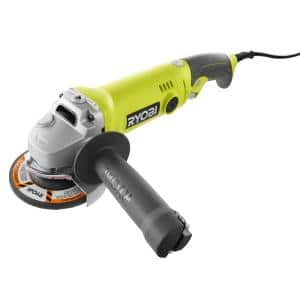 7.5 Amp 4.5 in. Corded Angle Grinder