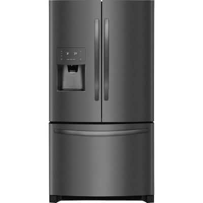 26.8 cu. ft. French Door Refrigerator in Black Stainless Steel