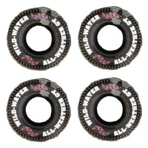 36 in. Inflatable Swimming Pool River Lake Floating Tire Tube Rings (4-Pack)