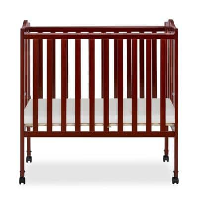 2 in 1 Cherry Lightweight Folding Portable Crib