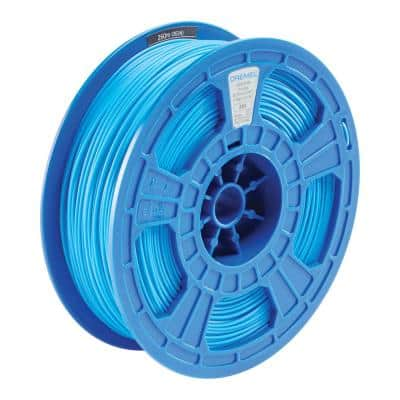 3D 0.75 kg Blue PLA Filament