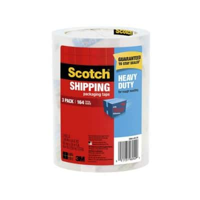 Scotch 1.88 in. x 54.6 yds. Heavy Duty Shipping Packaging Tape (3-Pack)
