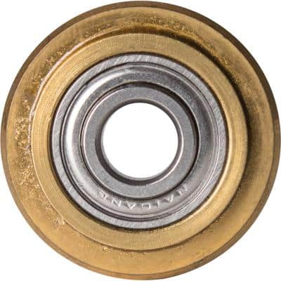 7/8 in. Titanium Coated Replacement Scoring Wheel for Multiple Tile Types