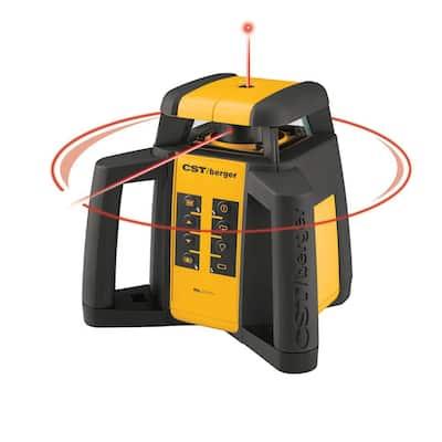 2000 ft. Self-Leveling Horizontal/Vertical Rotating Laser Level Kit (6-Piece)