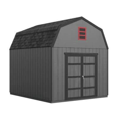 Do-it Yourself Braymore 10 ft. x 12 ft. Wooden Storage Shed with Flooring Included