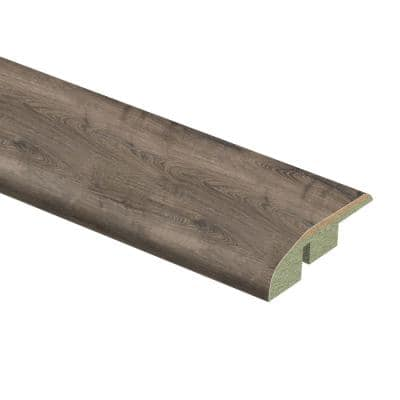 Vintage Pewter Oak 1/2 in. Thick x 1-3/4 in. Wide x 72 in. Length Laminate Multi-Purpose Reducer Molding