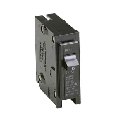 BR 15 Amp Single-Pole Circuit Breaker