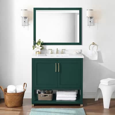 Green Bathroom Vanities With Tops Bathroom Vanities The Home Depot