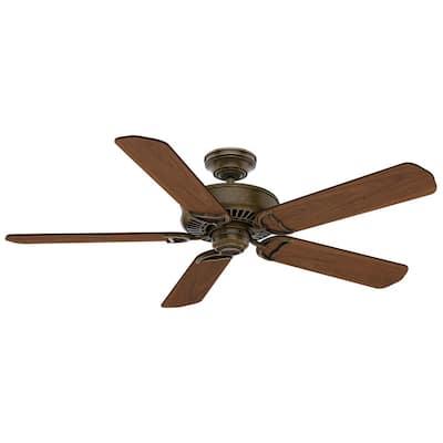 Panama 54 in. Indoor Aged Bronze Ceiling Fan