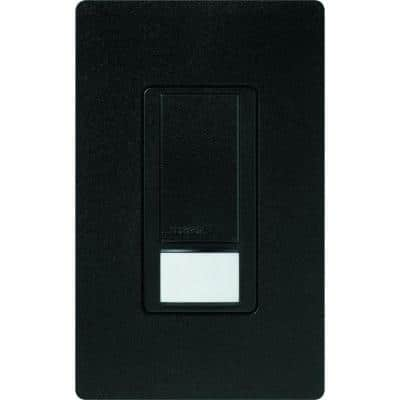 Maestro Dual Voltage Motion Sensor switch, 6-Amp, Single-Pole, Midnight