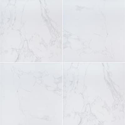 Praia Carrara 24 in. x 24 in. Square Matte Porcelain Paver Floor Tile (14 Pieces/56 sq. ft./Pallet)