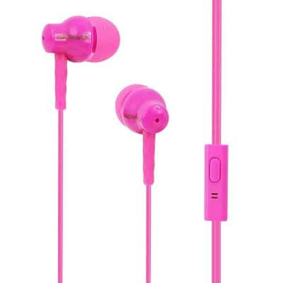 In-Ear Silicon Earbuds with Microphone