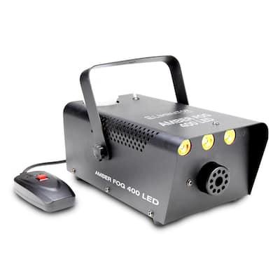 Amber Fog 20-Watt Equivalent 400 Lumens Integrated LED Black Fogger with Three 1-Watt LED