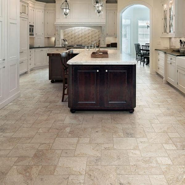 Marazzi Travisano Trevi 12 In X 12 In Porcelain Floor And Wall Tile 14 40 Sq Ft Case Uln9 The Home Depot