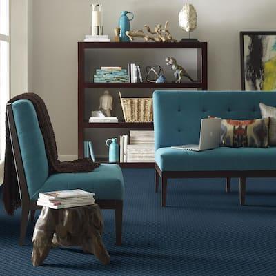 Exquisite - Color Normandy Pattern Blue Carpet