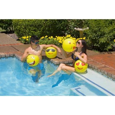 16 inch Expressions Swimming Pool and Beach Ball (4-Pack)