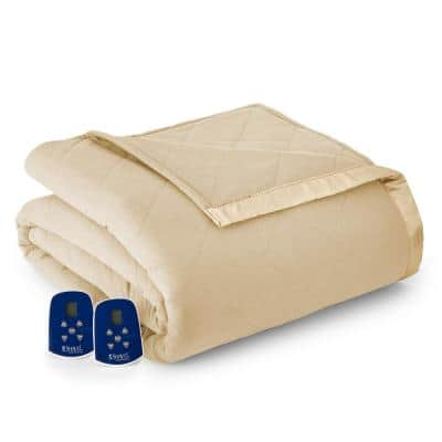 King/Cal King Chino Electric Heated Comforter/Blanket